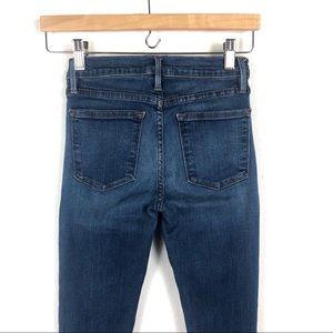 Frame Denim Jeans - FRAME Le High Skinny In church street ripped